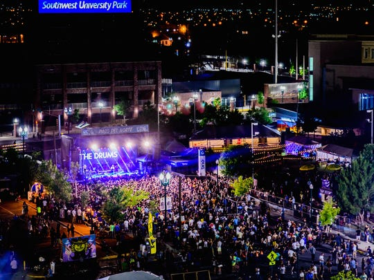 The annual Neon Desert Music Festival will take over Downtown El Paso on Saturday and Sunday.