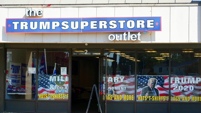The Trump Superstore outlet has opened at 1981 Woodbury Ave. in Portsmouth recently.