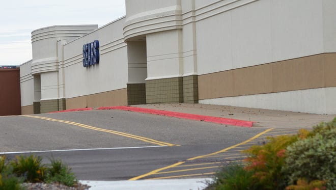 The Crossroads Center Sears will close to the public in mid-January 2018.