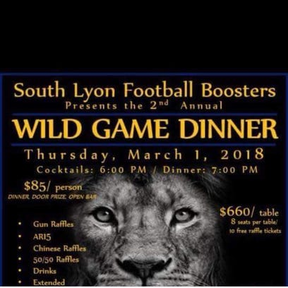 A charity event to raise money for South Lyon's football