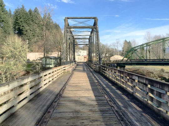 Whether its served timber commerce, recreation or general foot and bicycle traffic, the pedestrian railroad bridge has been a Mill City fixture for nearly a century. Save Our Bridge, a local committee, has formed to raise money to ensure the bridge's maintenance, repair and restoration.