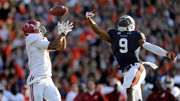 Jermaine Whitehead is projected to start at field safety for Auburn.