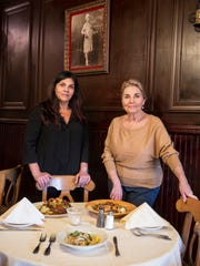 Lana Graziano and her mother, Veronica Graziano, stand