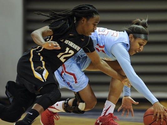 Lady Techster Basketball vs USM
