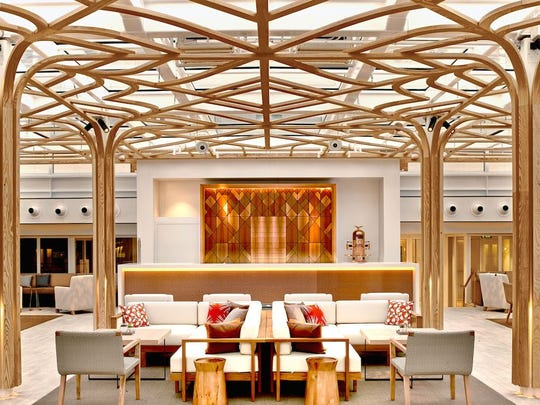You'd be wise to have tea in the Wintergarden on Viking Ocean Cruises