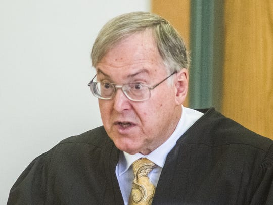 Judge Robert Mello, pictured on Tuesday, June 14, 2016,