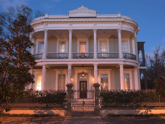 The Robinson Mansion is the most expensive property in Louisiana.