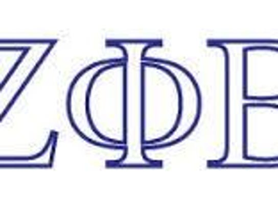 Zeta Phi Beta Greek Letters