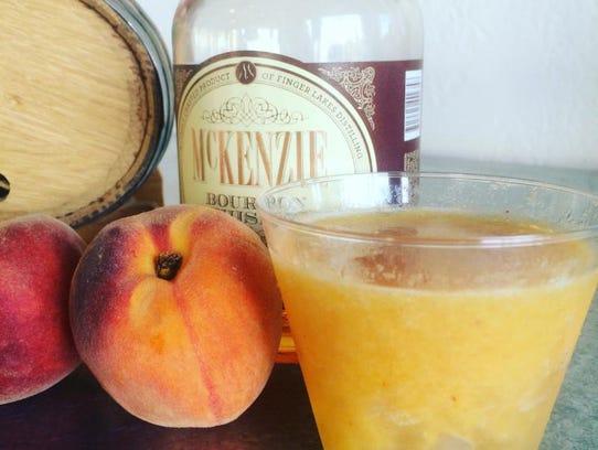 McKenzie Peach Bourbon Smash
