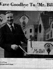 Bill Norwood hosted the 'Mr. Bill' show on WLOS-News