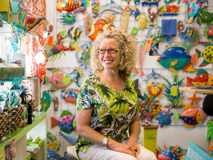 Melody Bales, owner of The Lady from Haiti art boutique