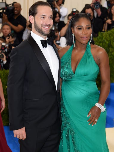 Serena Williams (tennis) and Alexis Ohanian