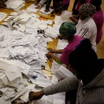 Early results show ANC in lead in SA vote