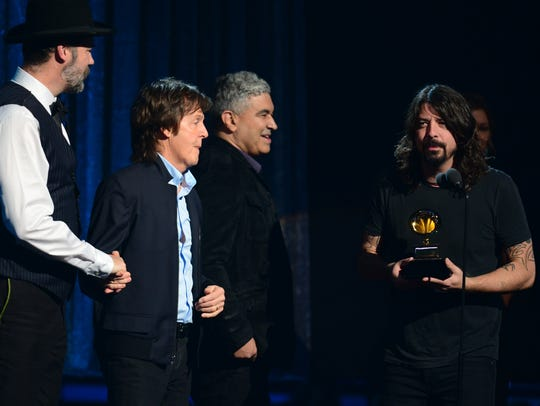 Paul McCartney and Dave Grohl win Grammy