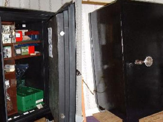 Restored safe by Fred Beihl. DAILY RECORD/SUNDAY NEWS - SUBMITTED