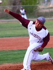 Tularosa senior Andres Aragon struck out six batters in a 6-3 win over Eunice.