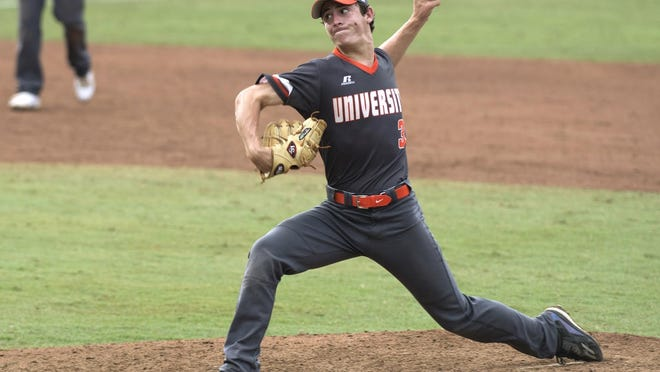 A three-time News-Journal Player of the Year, University's Logan Allen went 13-0 with a 0.35 ERA and 150 strikeouts in his senior season, leading the Titans to the Class 9A championship game.