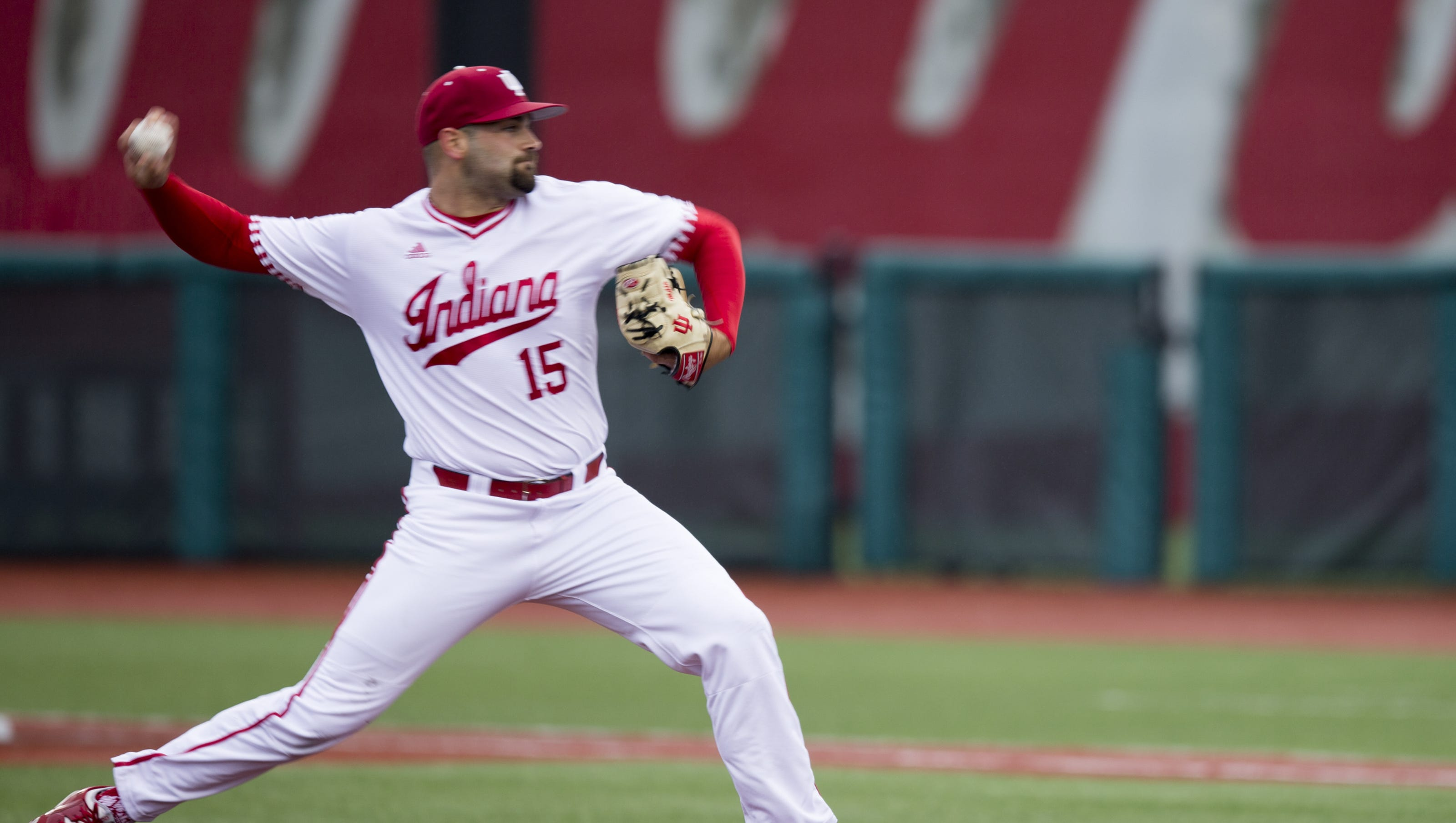 ncaa baseball: indiana's pauly milto dices up texas southern hitters