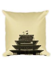 Pagoda decorative pillow, $32