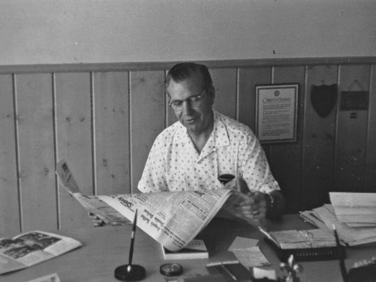 Dr. Roy McCall was the first College of the Desert