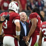 Who came to visit John McCain? Cards' Larry Fitzgerald