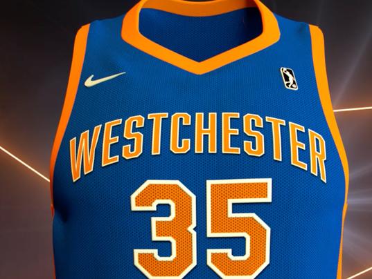 Westchester Knicks jersey