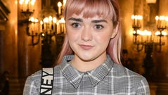 Maisie Williams attends the Stella McCartney show as