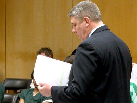 Ocean County Assistant Prosecutor is Michael Weatherstone