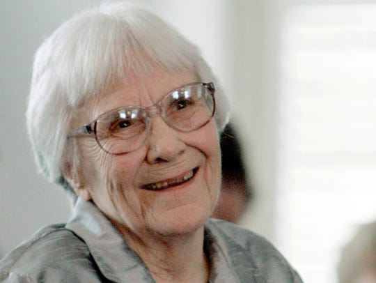 Harper Lee in 2007. The author of 'To Kill a Mockingbird'