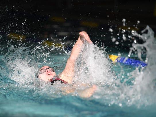 High School Girls Swimming Leonia Palisades Park Wins Njic Again