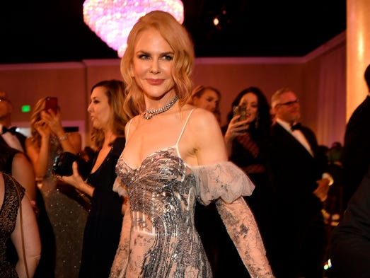 Jan 8, 2017; Beverly Hills, CA, USA; Nicole Kidman