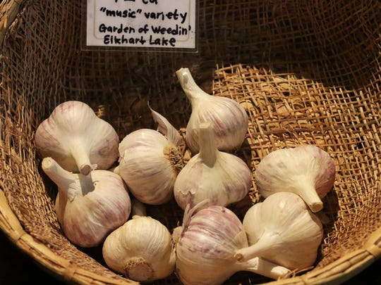 Garlic: By far, one of the easiest plants to grow.