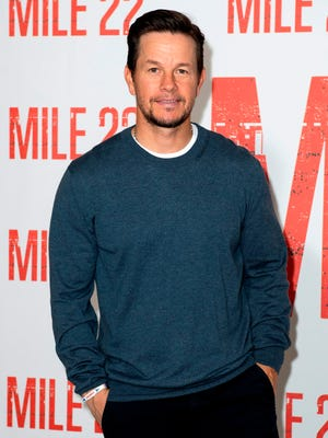 Mark Wahlberg poses during the Photo Call for Mile 22.