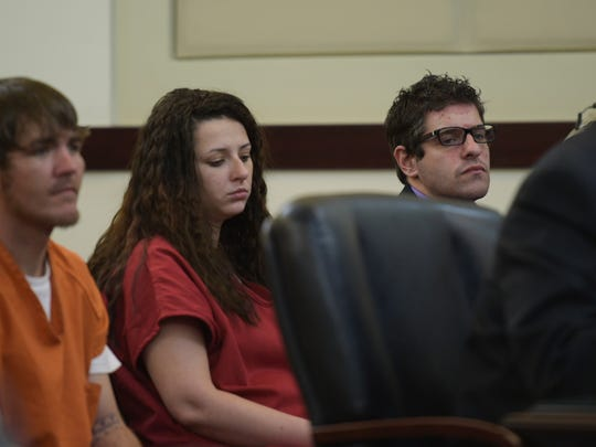 James Mofield, left, Destiny Zeilman and Richard Atchley