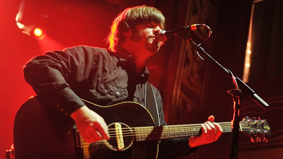 Jay Farrar performs at Webster Hall on March 14, 2012 in New York City.