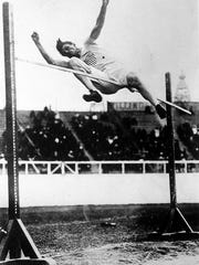 """Ray Ewry was nicknamed """"The Human Frog"""" for his ability to leap in standing jump events that were part of the Olympics at the turn of the 20th century."""