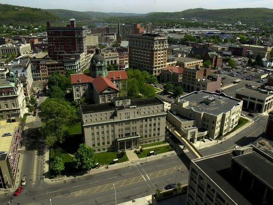 DOWNTOWN BINGHAMTON COURTHOUSE