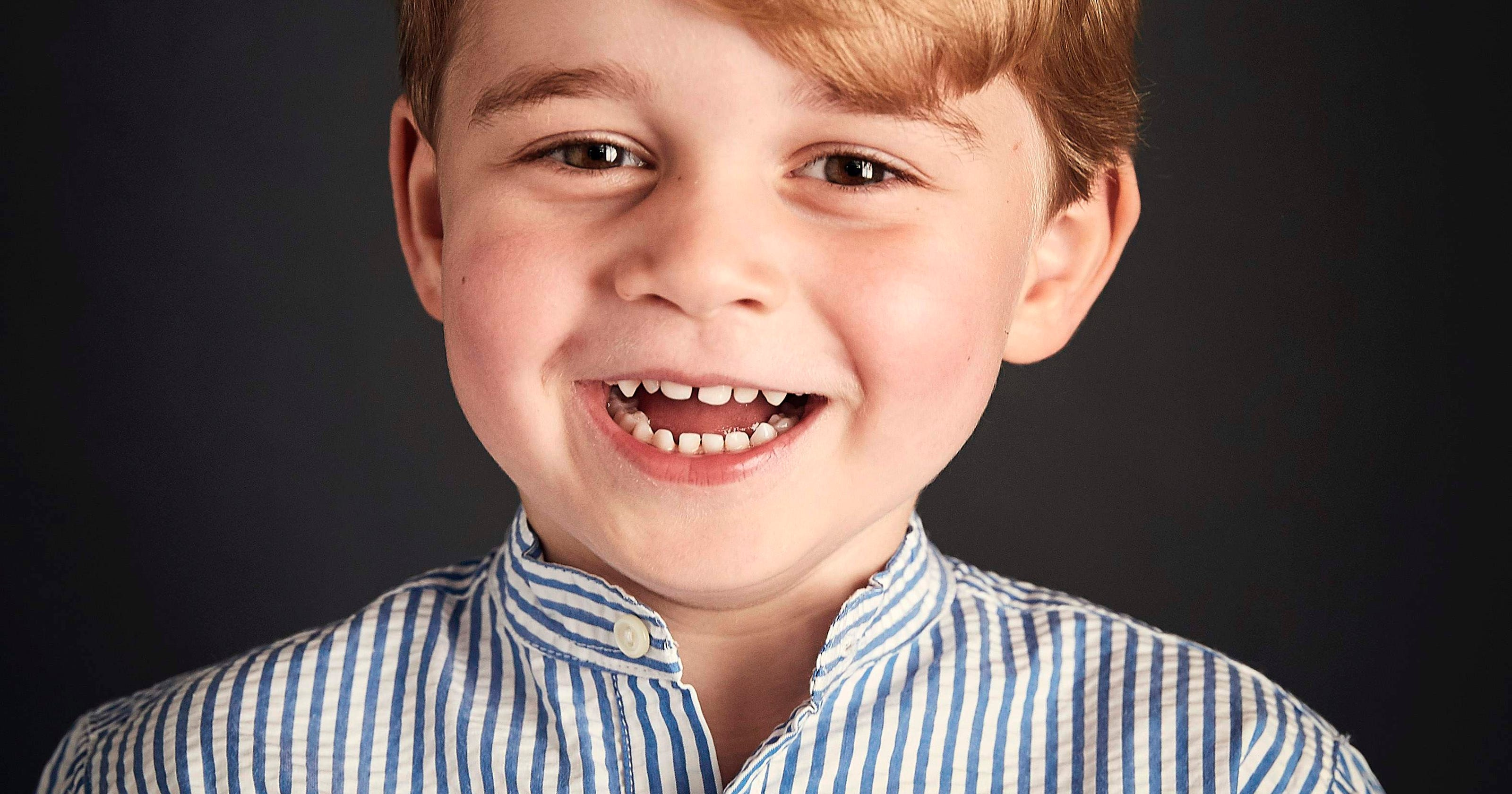 Prince George Celebrates Fourth Birthday With A New Official Portrait