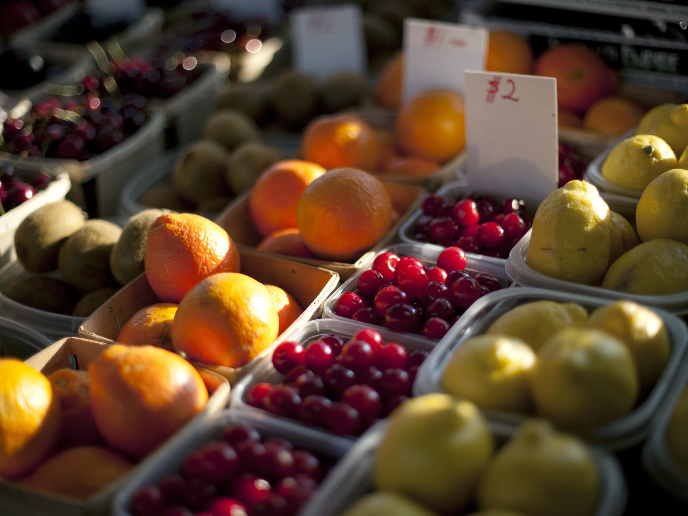The Rochester Public Market is one of many locations where seniors may use coupon books distributed through the Senior Farmers Market Nutrition Program.