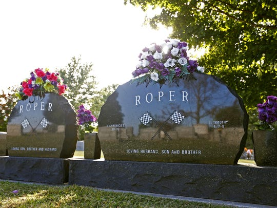 "Former NASCAR driver and Springfield native Anthony Dean ""Tony"" Roper is buried in the cemetery at Mount Comfort Church north of Springfield."