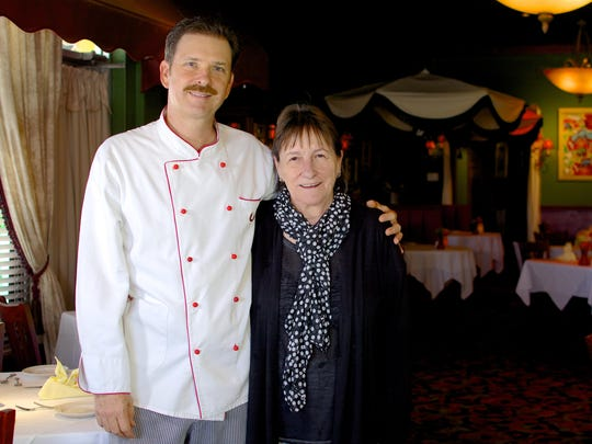Chef Eddie Deleuil and Heidi Deleuil opened Heidelberg