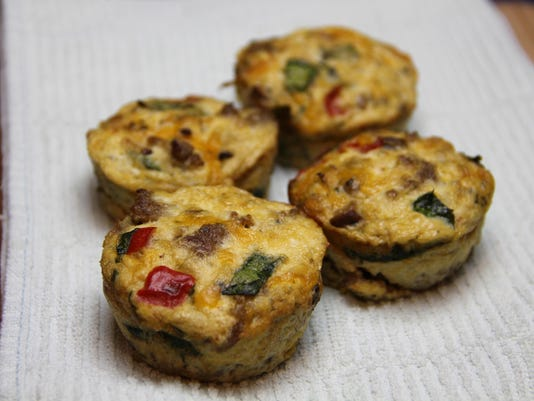 Food Healthy Morning Egg Cups