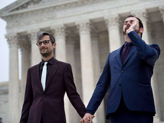 US-JUSTICE-GAY RIGHTS-MARRIAGE