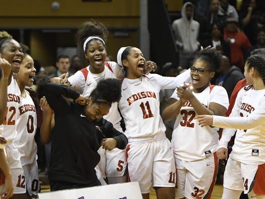 Detroit Edison girls basketball