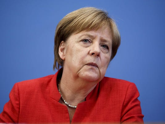 Merkel Holds Press Conference On Current Topics