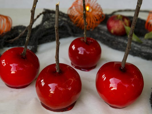 This Halloween, make your own caramel and candy apples