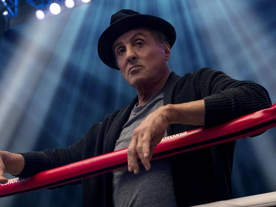 "Sylvester Stallone stars in ""Creed II."" The movie opens Tuesday at Regal West Manchester Stadium 13 and R/C Hanover Movies."