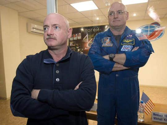 Scott Kelly,Mark Kelly