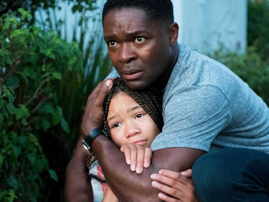 """David Oyelowo and Storm Reid in """"Don't Let Go."""""""