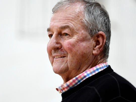 Former Connecticut head coach Jim Calhoun isn't surprised by what Steve Pikiell, his former player, is accomplishing at Rutgers.
